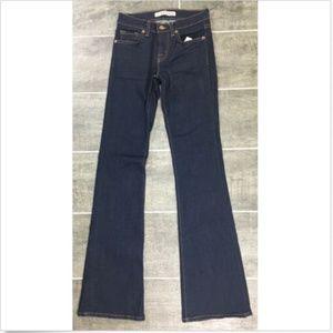 J Brand Slim Bootcut Jeans Women's Size 23 Blue